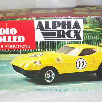 early 70's r/c cars