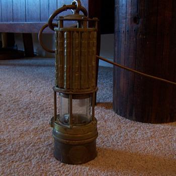 Unique miners lamp - Lamps