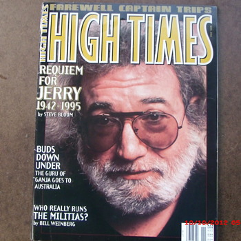 From my Grateful Dead Collection High Times #243 farewell to Jerry Garcia - Music
