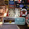 Maplehurst Jersey Farms...Milk...Ice Cream Electric Lighted Advertising Clock
