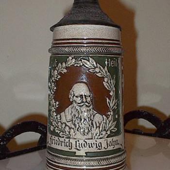 Friedrich Ludwig Jahn Beer Stein - Breweriana