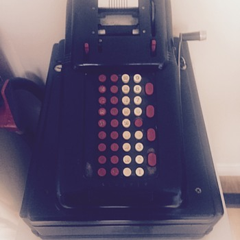 Cash register and adding machine