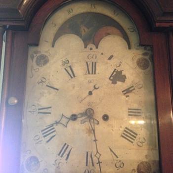 Grandfather Clock (circa 1790-1810)
