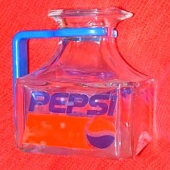 Pepsi Cola Mini Pitcher - Glassware