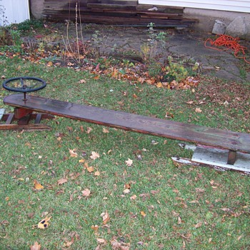 Bobsleigh From late 1800's - Sporting Goods