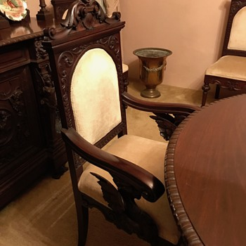 Grandmothers Dining table and chairs