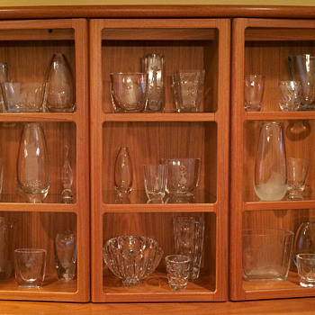 My Collection of Etched Swedish Glass - Art Glass