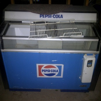 pepsi cola cooler - Advertising