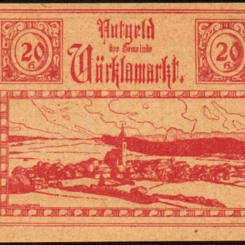 Austria - 20 Heller - Emergency Note - 1920