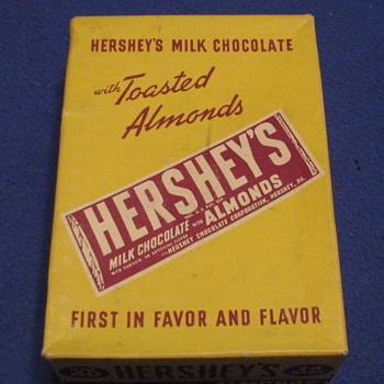 Vintage Hershey's Milk Chocolate Box - Signs