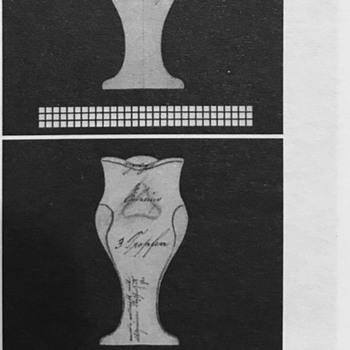 Loetz Medina Optisch, PN II-2101, ca. 1904 - Art Glass