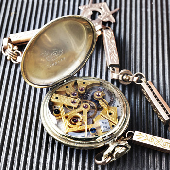 Dudley Masonic Pocket watch - Pocket Watches
