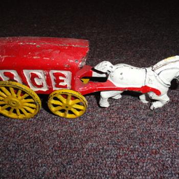 iron toy ice cart - Toys