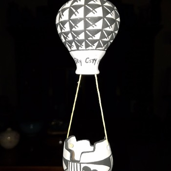 Hot Air Balloon  - Pottery