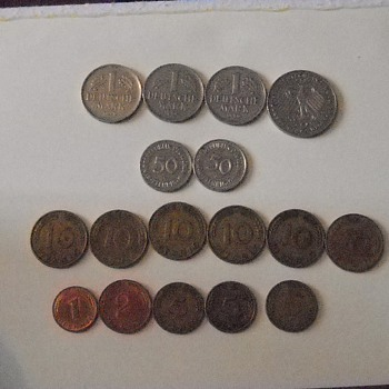 German coins - World Coins