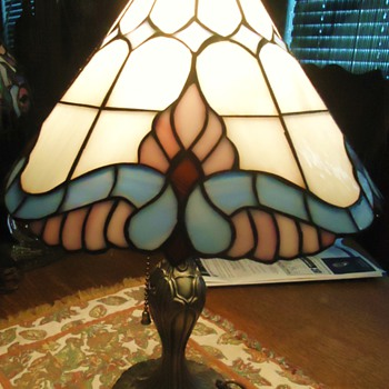 "16"" stained glass lamp - Lamps"