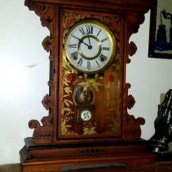A Gingerbread Clock on a Craig's List Find - Clocks