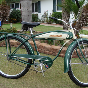 Rare 1949 Post War BF Goodrich Schwinn Built Challenger Survivor! - Sporting Goods