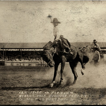 Oklahoma Roundup Photos..1920