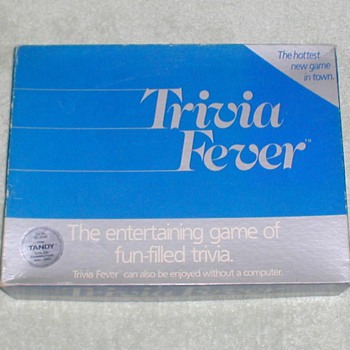 1984 Trivia Fever Game - Games