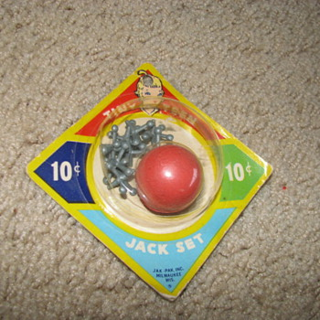 Vintage Toy Jack Set - Games