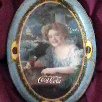 Original 1909 Coca-Cola Change Tray