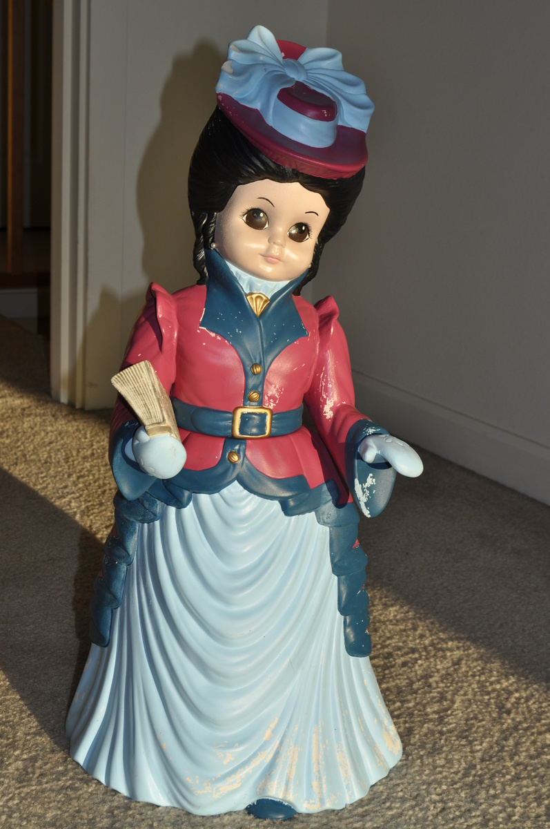 Porcelain Doll. What was it used for? How old is it? Who made it?  Collectors Weekly