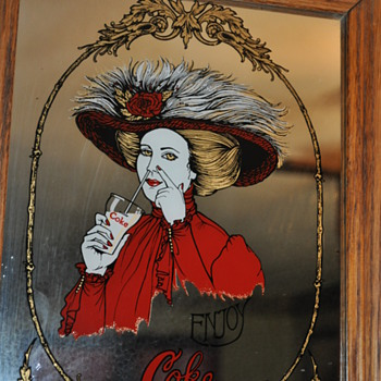 Coke Mirror, I've never seen another one like it.