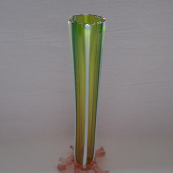 Single Stem Vase on Welz Thorny Feet