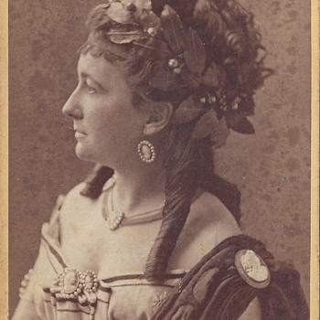 Charlotte Wolter by Székely of Vienna, Austria