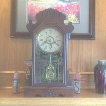 Old 1870s clock - Clocks