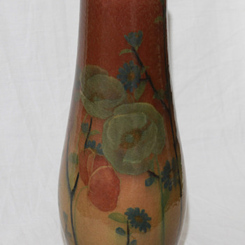 Rookwood K. Shirayamadani Jewel Porcelain Vase - Art Pottery