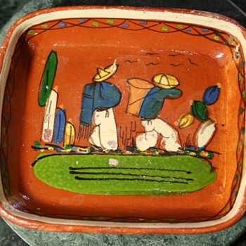 tlaquepaque tray - Pottery