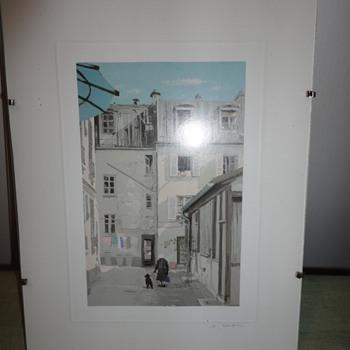 European Lithographs - Visual Art