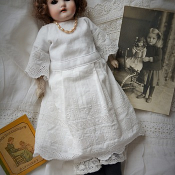 Mystery bisque doll