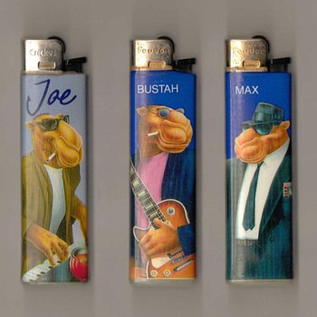 "1991-92 ""Camel"" Disposable Lighters - Tobacciana"