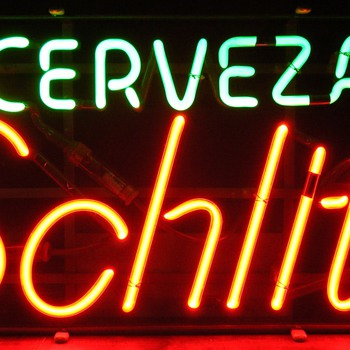 Cerveza Schlitz Neon Sign - Signs