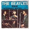 Beatles 45 - Paperback Writer/Rain - Fair Condition