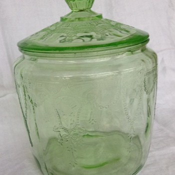Cookie Jar by Hocking Glass Co.