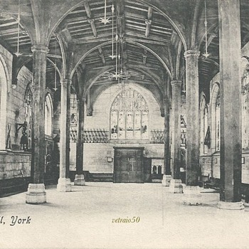 GUILDHALL, YORK. C.1900 - Postcards