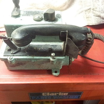 old military phone - Military and Wartime