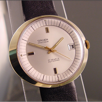 Gruen Art Deco Wristwatch