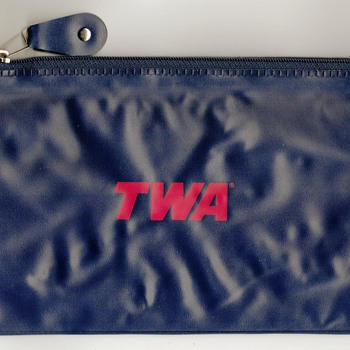TWA Airlines Travel Bag
