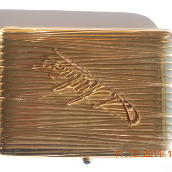 Russian Antique Cigarette Case