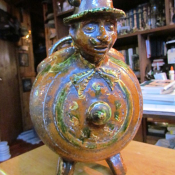 Does anybody have any idea what this is?? We are stumped! - Art Pottery
