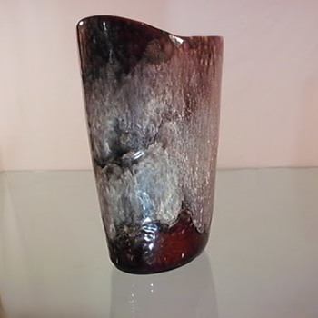 Interesting Vase - Art Glass