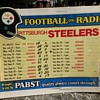 1976 Pittsburgh Steelers - Pabst Blue Ribbon Bar Schedule