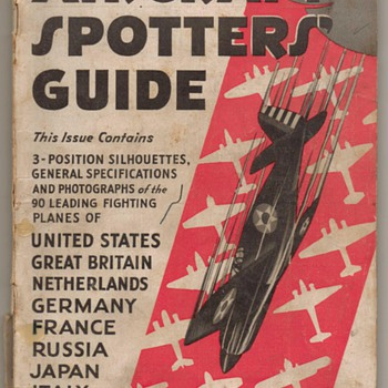 1942 Aeronautics Spotters Guides - Paper