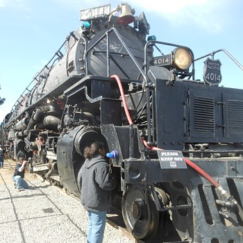 Big Boy 4014 at the Union Pacific Colton Yard - Railroadiana