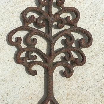 Victorian Cast Iron Trivet